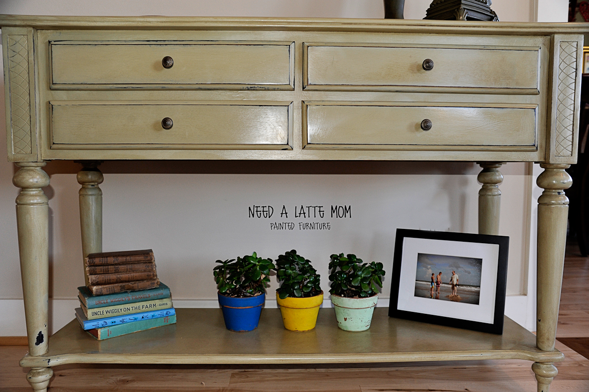 Furniture Painted in Annie Sloan Chalk Paints