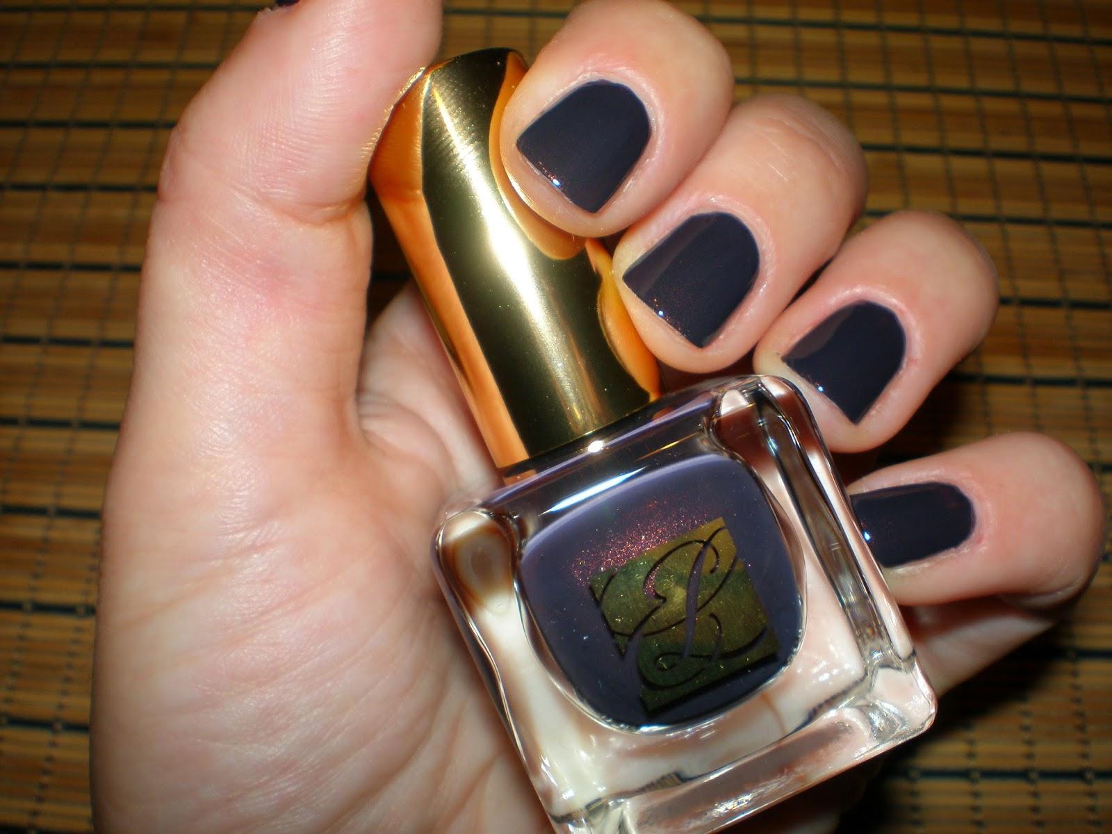 Estee Lauder nail polish in Molten Lava