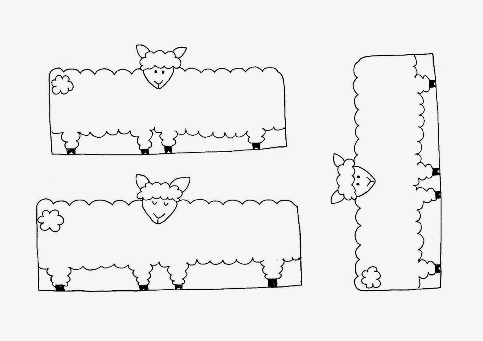 Gambar domba dipotong sesuai bentuk lalu gulung dan tempel gambar domba tsb lihat contoh gambar jadinya diatas