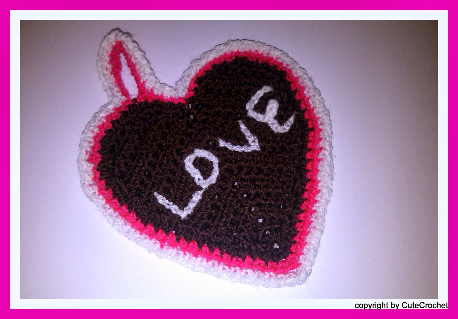 Cutecrochet Süße Häkeleien Gegen Den Krebs Lebkuchen Herz