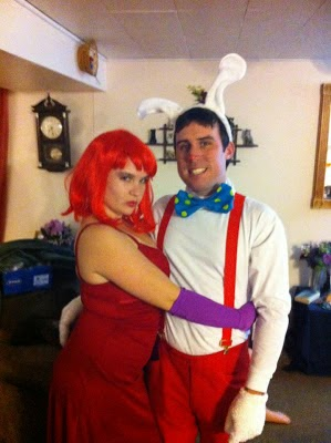 Jessica Rabbit And Roger Rabbit Costumes