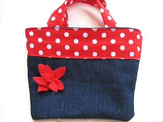 Adorable Reversible Bag for Girls (Free Sewing Pattern)