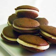 Carla Hall's Choco-holic Whoopie Pies 11.7.11