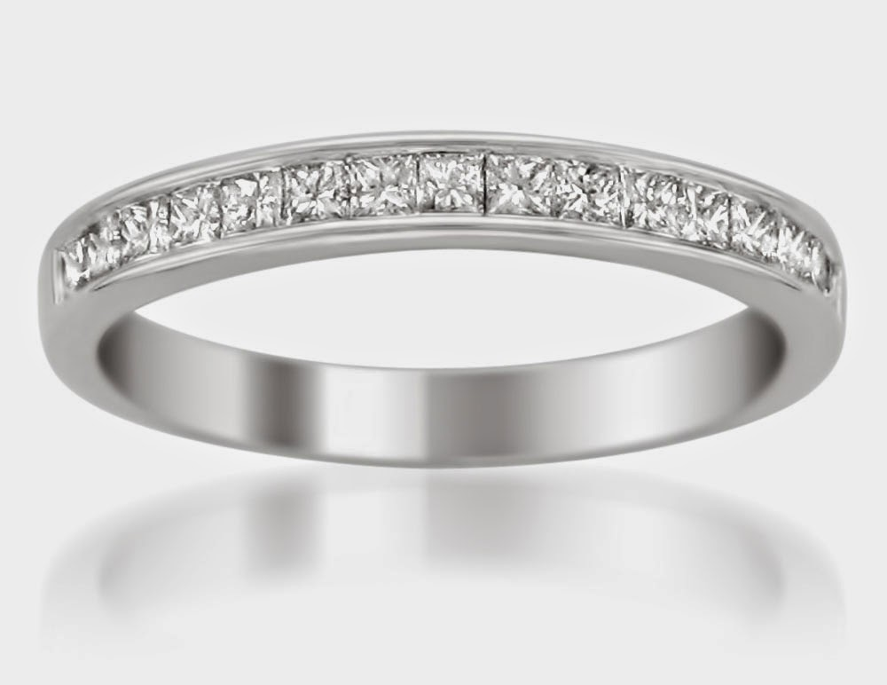 Cheap Wedding Bands His UK Rectangle Diamond Model pictures hd