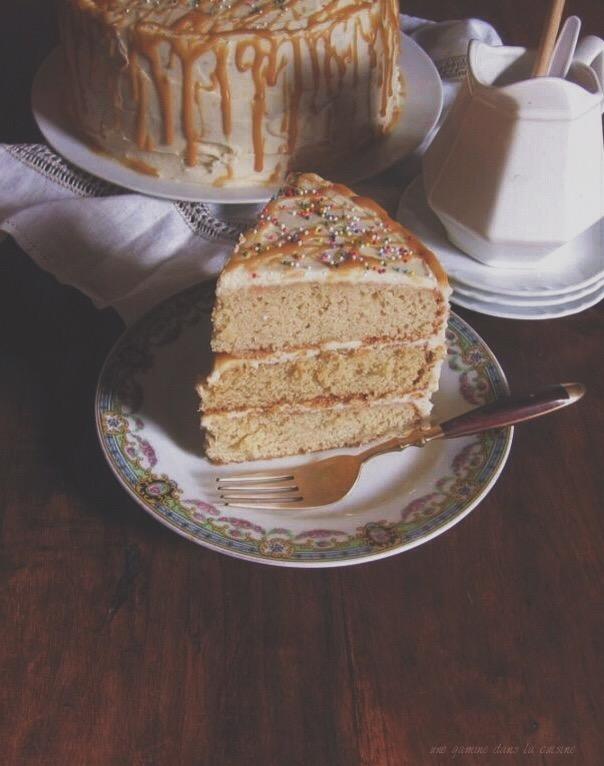 antique caramel cake / une gamine dans la cuisine