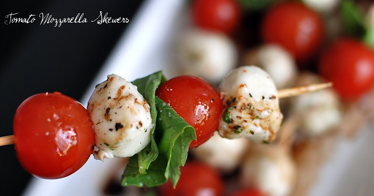 tomato appetizer skewers the enchanted cook tomato mozzarella skewers