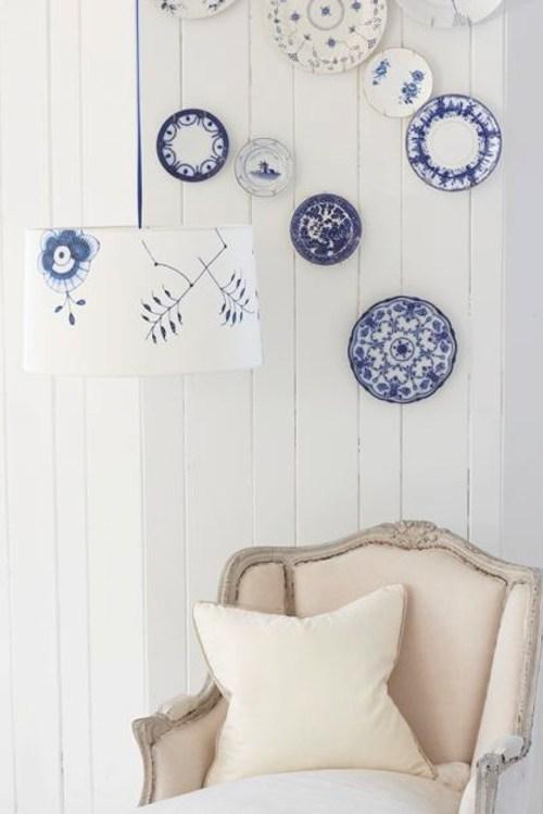 Cosas de palmichula decorar las paredes con platos - Decorar rincones ...