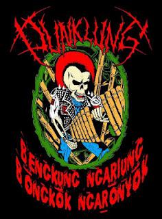 Punklung Band Traditional Punk Calung Cicalengka Bandung Indonesia Foto Artwork Logo Wallpaper
