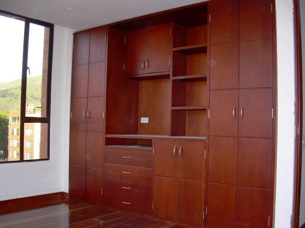 Tecar muebles closets armarios for Armarios modernos de madera