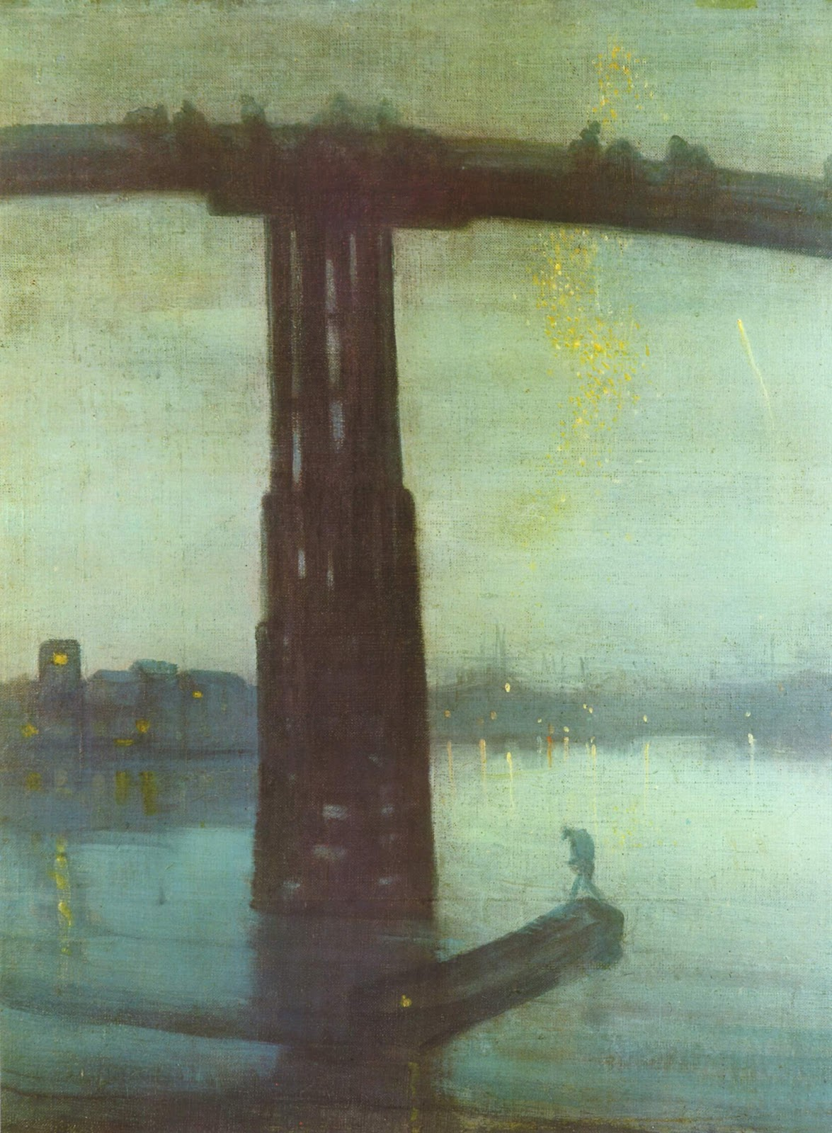 Watercolor artists directory wiki - Nocturne In Blue And Gold Old Battersea Bridge