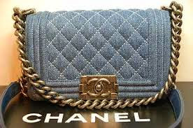 1:1 CHANEL BOY DENIM FLAP BAG
