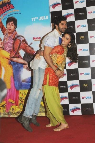 Varun Dhawana and Alia Bhatt