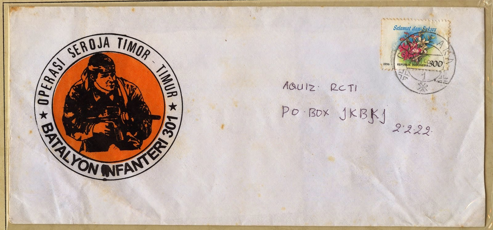 Surat Operasi Seroja Timor Timur