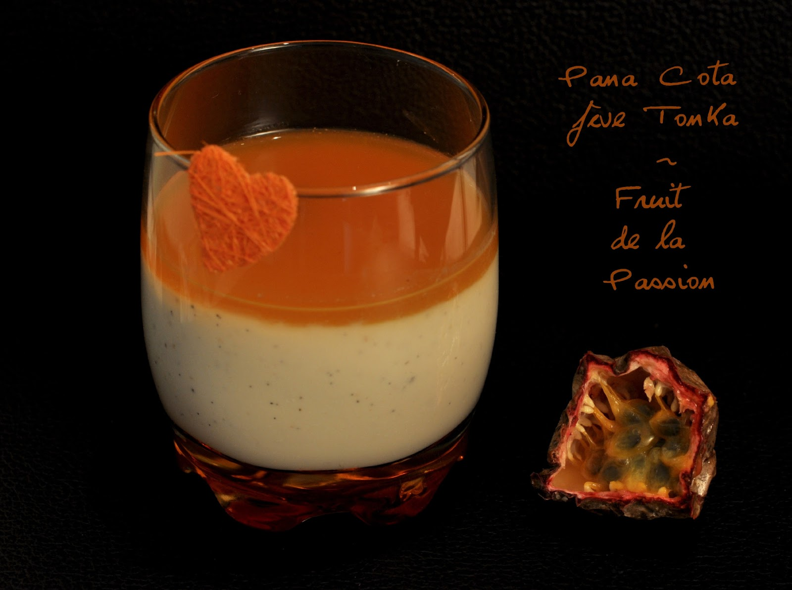 Pana Cota fève Tonka & Fruits de la Passion
