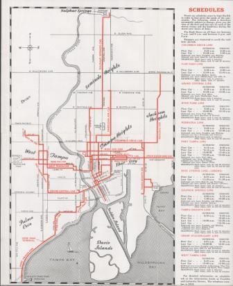 Tampa Bay History Center Mass Transit In Tampa Past Present and