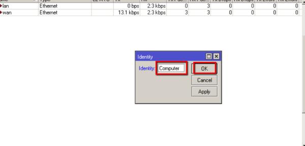 شرح خطوات اعداد برنامج Winbox فى سيرفر المايكروتك Mikrotik  4