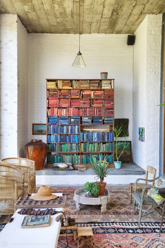 Johannesdal in South Africa ©Jan Hendrik  #eclectic #house #interiors