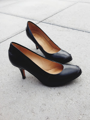 Acne Jeans Classic Black Pumps - ShopMyCloset