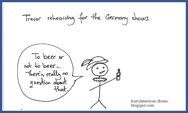 How to lecture about beer, Shakespeare and beer