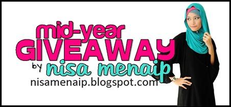 :: Mid-Year Giveaway by Nisa Menaip ::