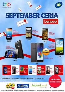 Promo Lenovo September Ceria Hingga Oktober 2015