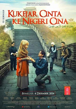 Film Kukejar Cinta ke Negeri Cina 2014 Bioskop
