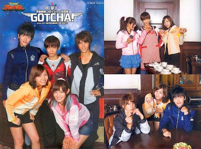 [SCANS] Gotcha☆Goseiger Photobook