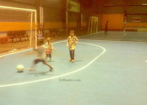 main futsal Piala Haji Harun