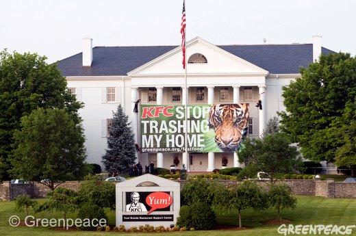 KFC Bantah Laporan Greenpeace