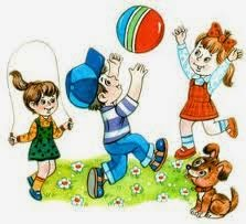 Подвижные игры для детей на свежем