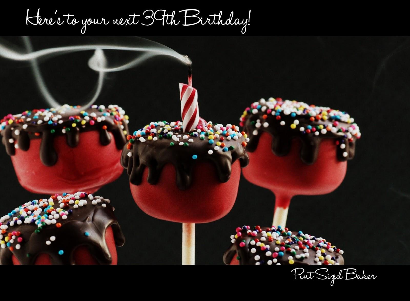 Happy Birthday Cake Cake Pops Pint Sized Baker