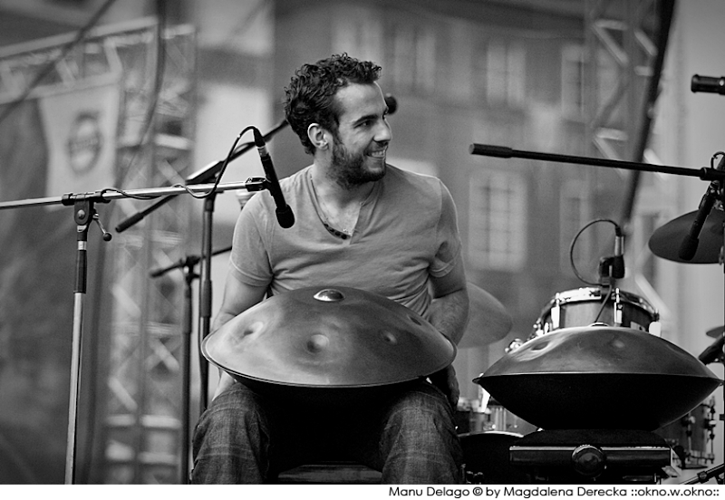 Manu Delago & The Wokheads :: Manu Delago :: 17th International Jazz at The Old Town Square Festival :: 2011
