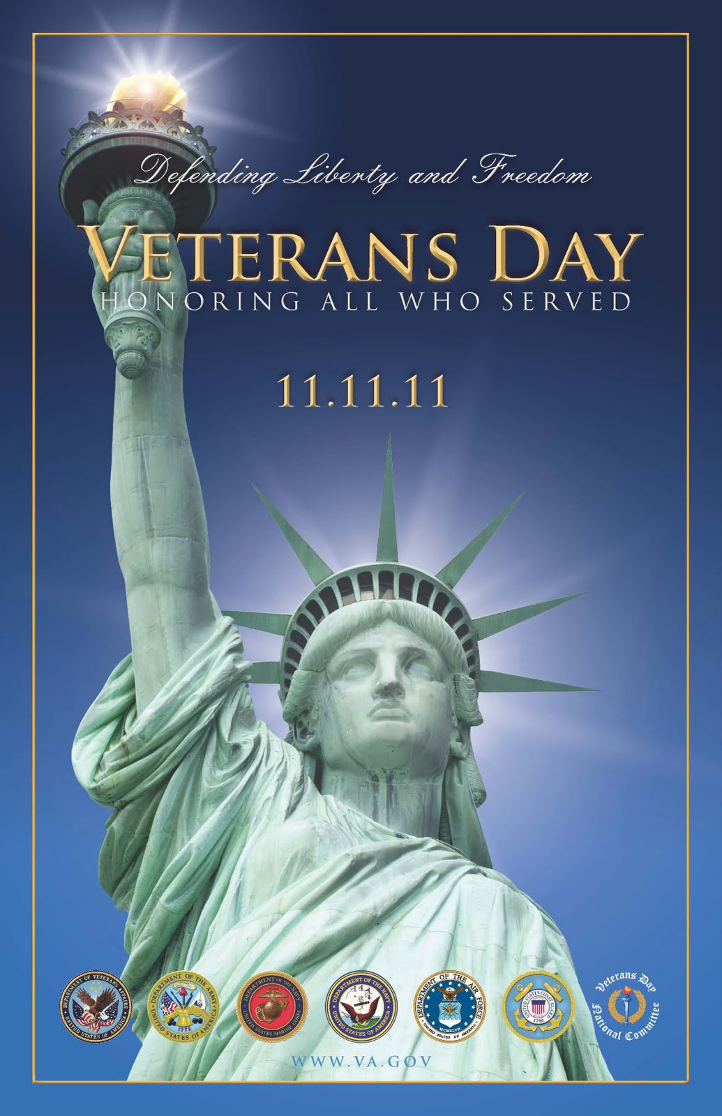 Veterans Day 2011 Poster
