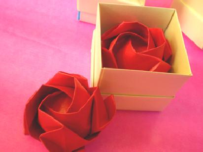 Rosa paso a paso origami - Imagui