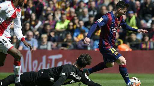 Barcelona vs Rayo Vallecano 6-1 Video Gol