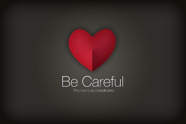 Achtergrond met een rood liefdes hartje