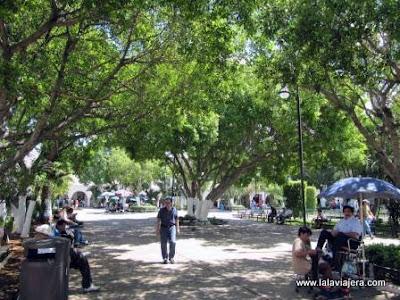 Zocalo Plaza Grande Merida, Yucatan