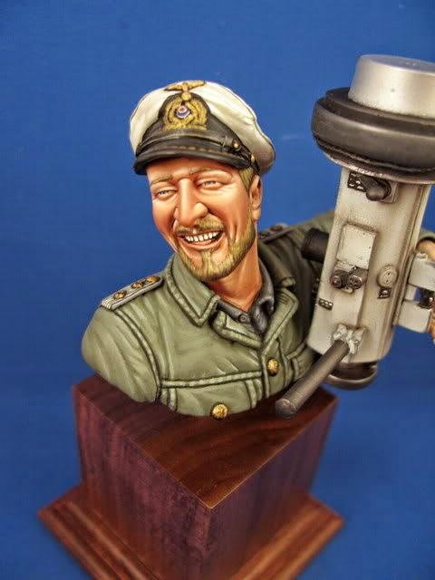"""U-Boat Captain Bust"""