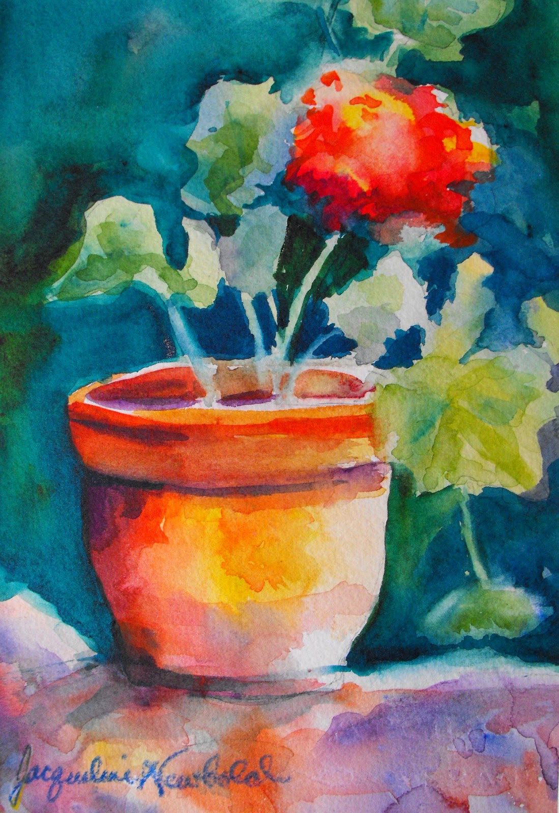 Abstract Painting Ideas For Beginners Abstract
