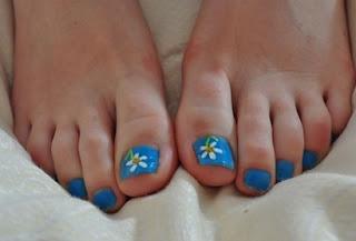 Tendências de unhas decoradas 2013 para os pés