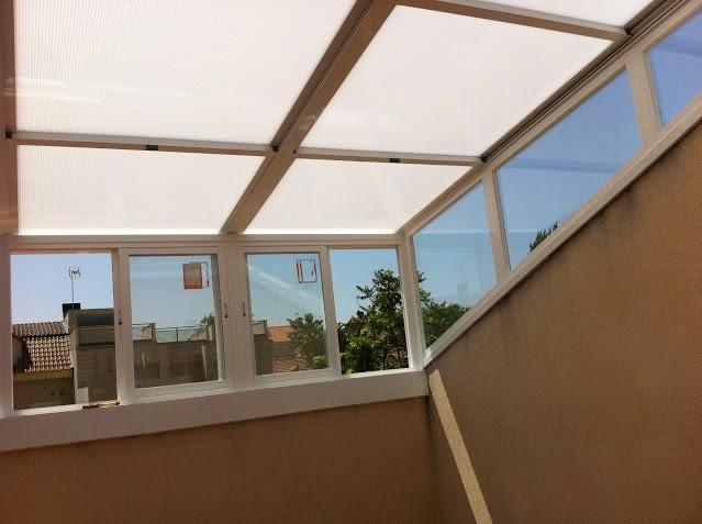 Techar terraza with techar terraza de terrazas techos y - Techar terraza atico ...