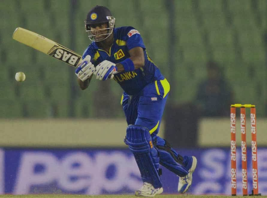 Sri Lanka defeated Bangladesh by 3 wickets in the last league match of the Asia Cup 2014.