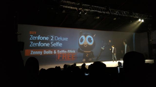 Zenfone Selfie Zenfone 2 Deluxe Freebies