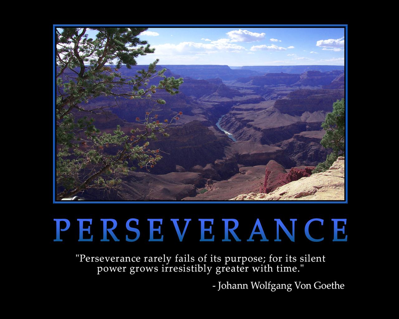 perseverance motivational wallpaper