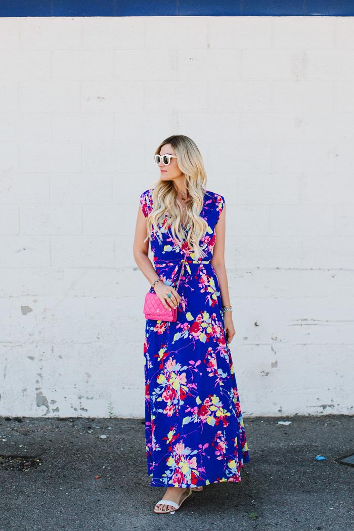 Dress Yumi Kim Floral Wrap