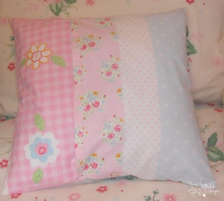 The silverscrapper 39 s craft space butterfly cushion for Space fabric dunelm