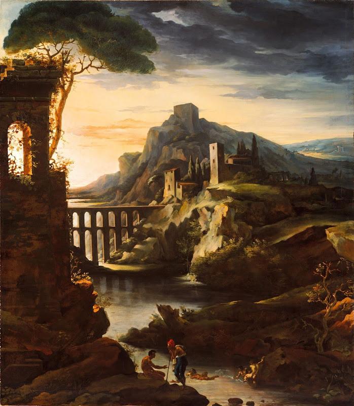 Jean-Louis André Théodore Géricault - Evening