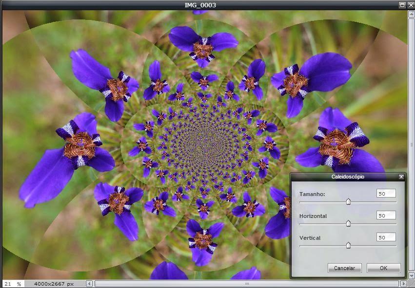 Pixlr - Caleidoscópio