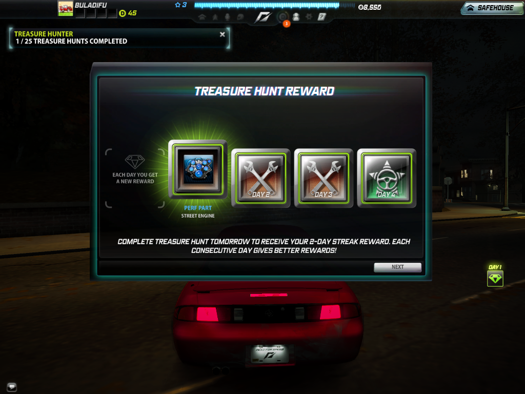 Need for speed world part two all you need to know about games need for speed world treasure hunt reward gumiabroncs Images