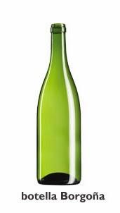 el vino en botella: